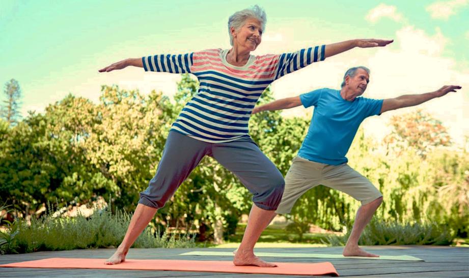 Ejercicio para mejorar la calidad de vida en personas mayores.