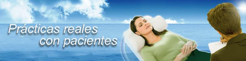Cursos de hipnosis con prácticas con pacientes reales. Máster, doctorado y cursos de especialización.