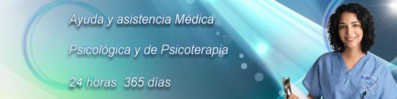 Directorio Hipnoterapeutas y Clínicas de Hipnosis. Ayuda y asistencia médica y psicologica 24x7